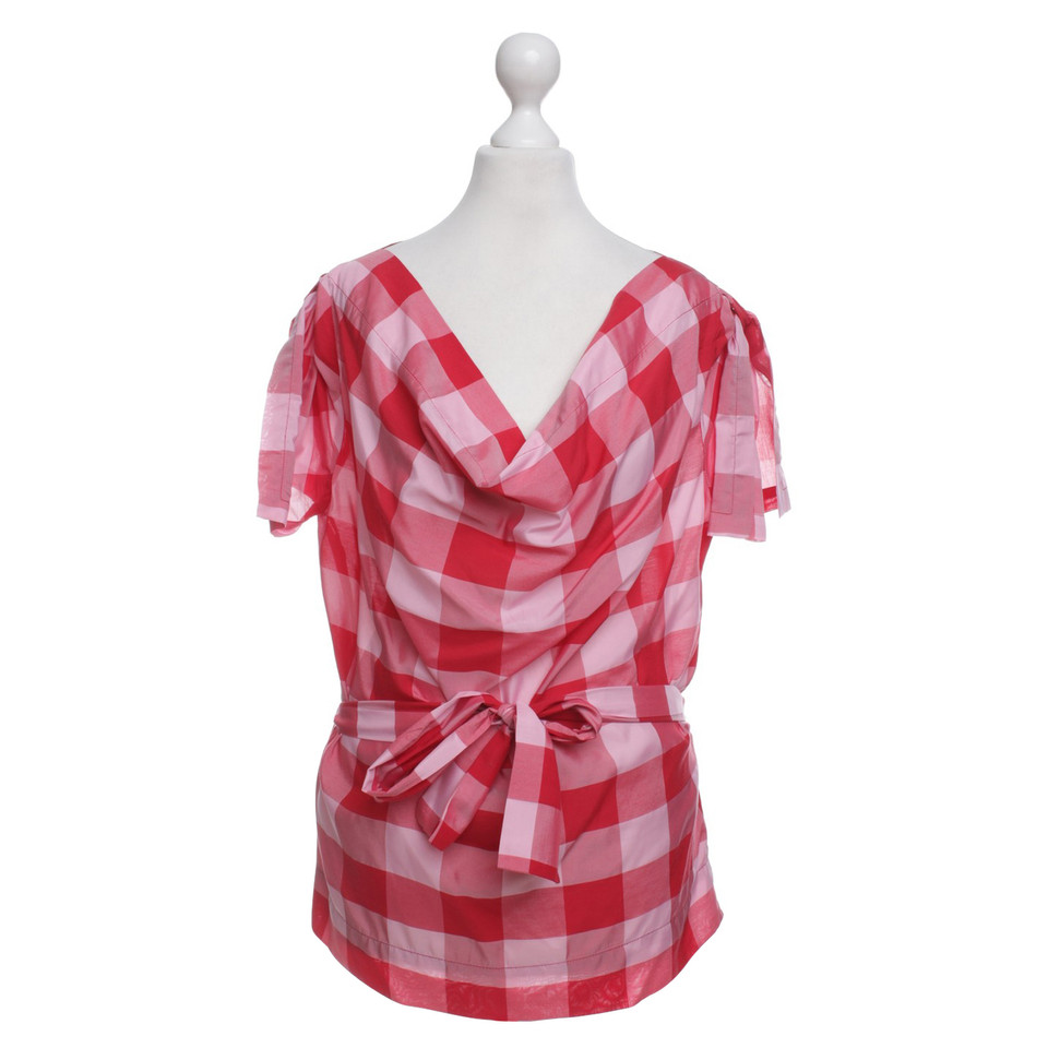 Vivienne Westwood top Checked