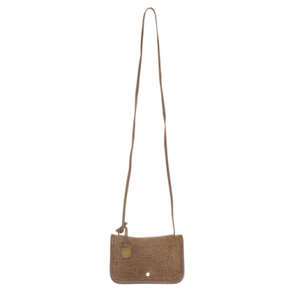 Borbonese Suede shoulder bag