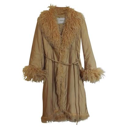 Ermanno Scervino Mohair cappotto vintage impreziosito
