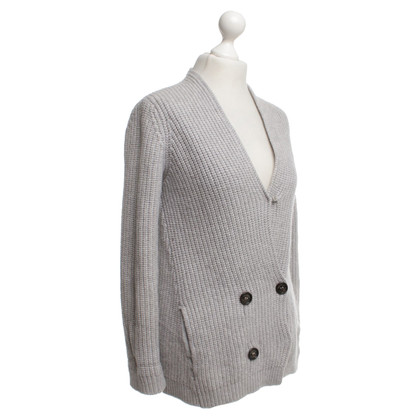 Brunello Cucinelli Cashmere jacket in grey