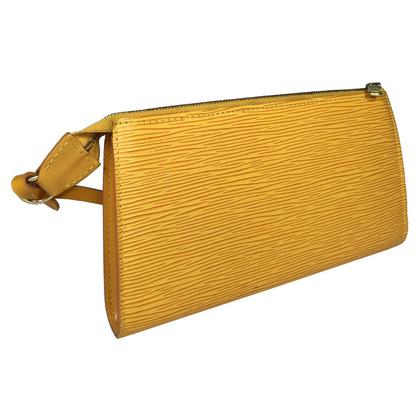 Louis Vuitton Pochette Accessoires Epi Leder Gelb