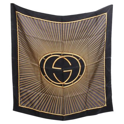 Gucci Silk scarf in bicolour