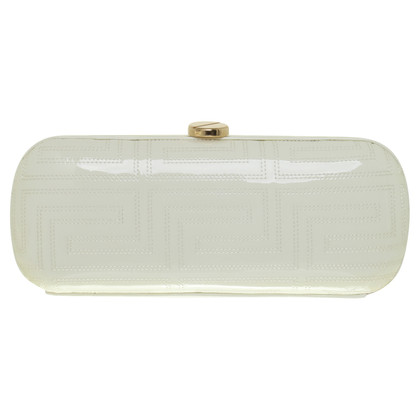 Gianni Versace Clutch aus Lackleder
