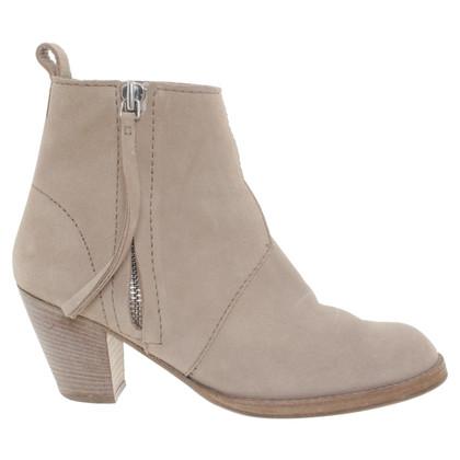 Acne Pistool-boots in beige