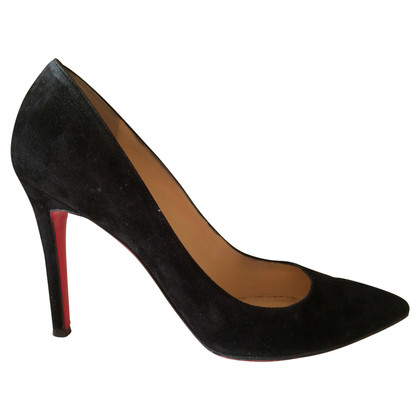 """Christian Louboutin Suede """"Pigalle 100"""" pumps"""