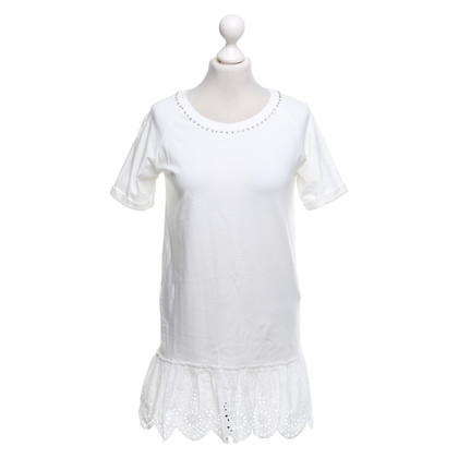 Twin-Set Simona Barbieri T-shirtjurk met edelstenen