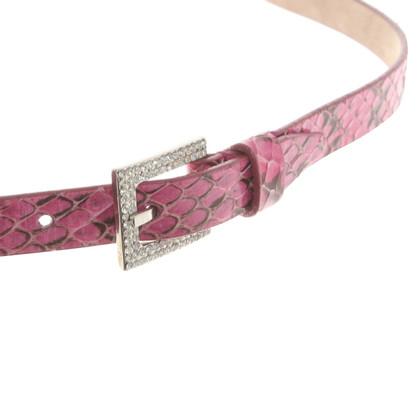Dolce & Gabbana Cintura Pelle di serpente