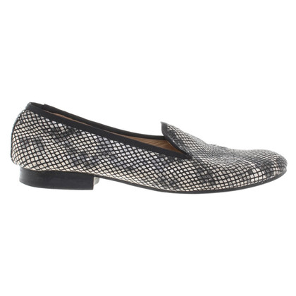 The Kooples Slipper avec reptile look