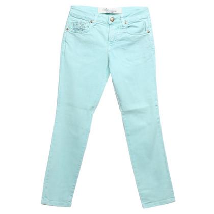 Blumarine Jeans in licht turquoise