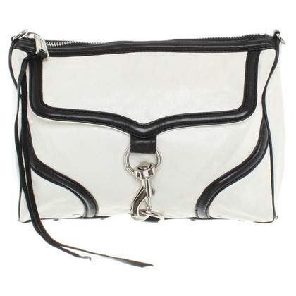 Rebecca Minkoff Shoulder bag in black / white