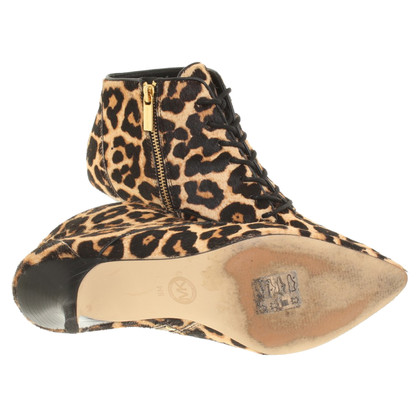 Michael Kors Ankle boots with leopard pattern