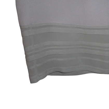 DKNY Grey skirt with side valance