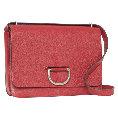 9a835bce7fdf Burberry Shoulder bag Leather in Red - Second Hand Burberry Shoulder ...