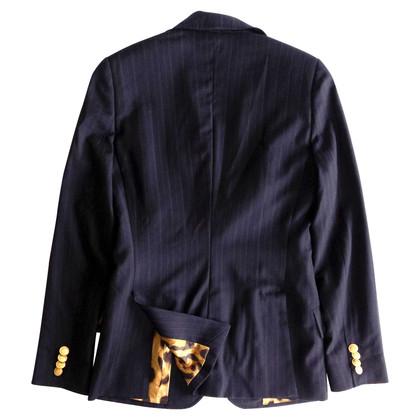 Dolce & Gabbana giacca a righe con dettagli degli animali