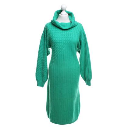 Yves Saint Laurent Robe en vert