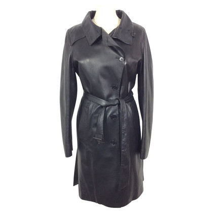Helmut Lang Cappotto in pelle
