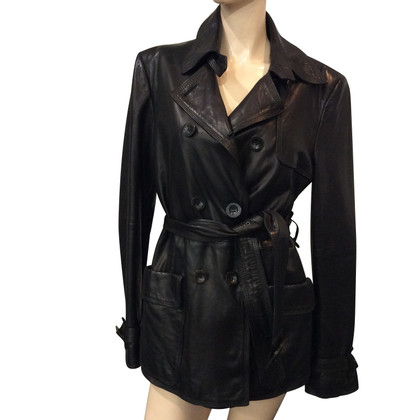 Pollini leather jacket