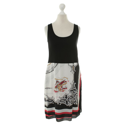 DKNY Dress with patterned skirt