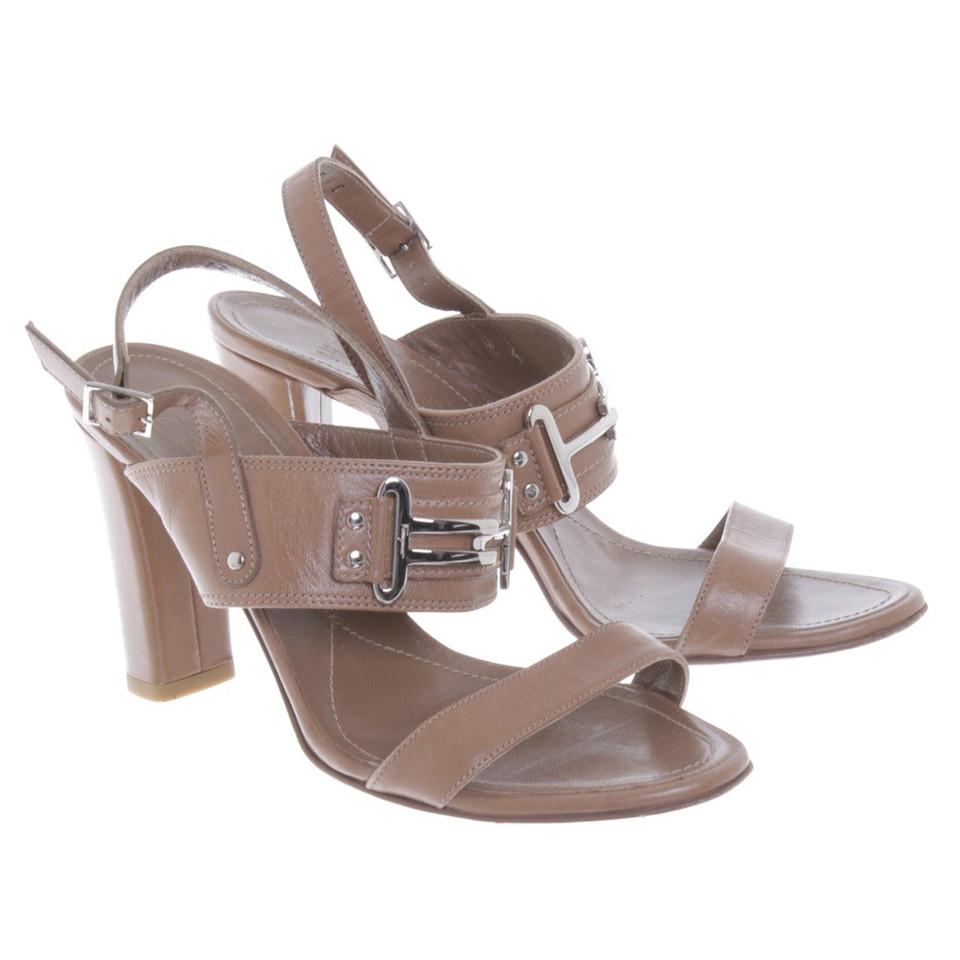 salvatore ferragamo sandalen in braun second hand salvatore ferragamo sandalen in braun. Black Bedroom Furniture Sets. Home Design Ideas