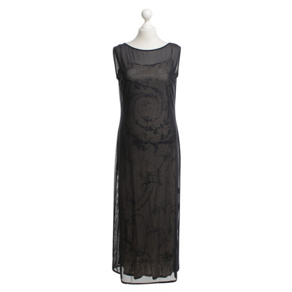 Laurèl Two-ply dress with pattern