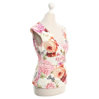 Karen Millen top with a floral print