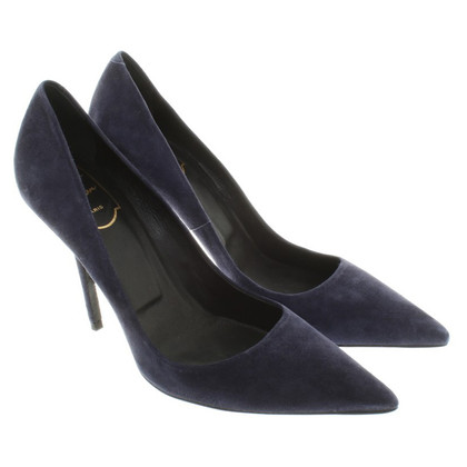 Roger Vivier Wild leather pumps in blue