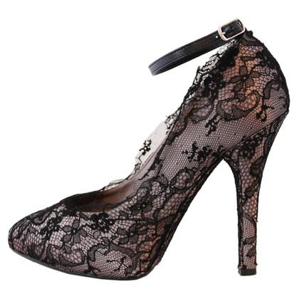 Dolce & Gabbana Pumps mit Fesselriemen
