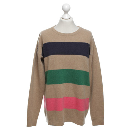 MSGM wool jumper in light brown