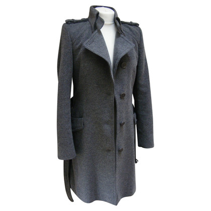 Drykorn Wollen jas met nylon