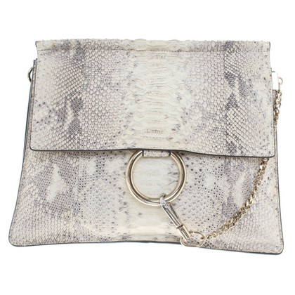 "Chloé ""Faye Bag"" with snakeskin"