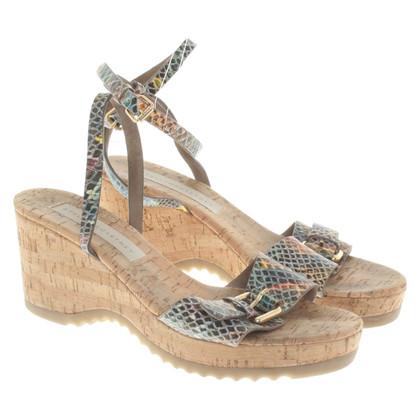Stella McCartney Cork sandalen gemaakt van kurk
