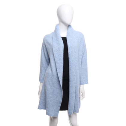 Camouflage Couture Cardigan in light blue