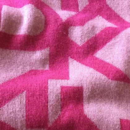 DKNY Roze sjaal