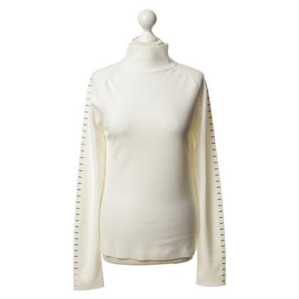 Balenciaga Pullover con rivetti