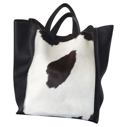 Furla Handbag with cow skin