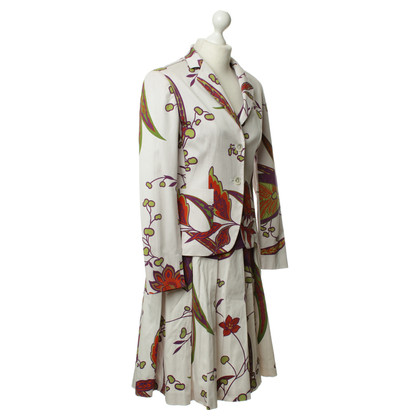Max Mara Costume with floral print