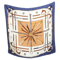Hermès sciarpa di seta colorata