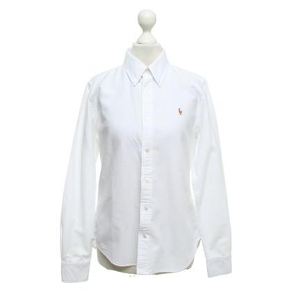Ralph Lauren Bluse in Weiß
