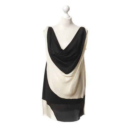 Donna Karan Top in black and cream