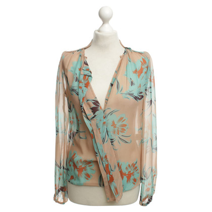 By Malene Birger Blouse with patterns Print