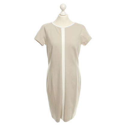 Marc Cain Dress in beige / white