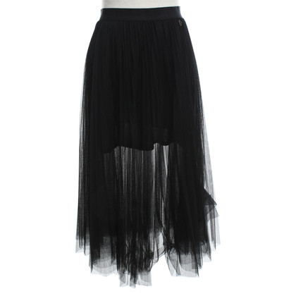 Twin-Set Simona Barbieri Tulle skirt in black