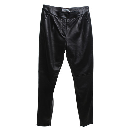 Valentino Leather pants in black