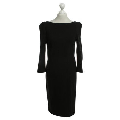 Diane von Furstenberg Rückenfreies Kleid in Schwarz