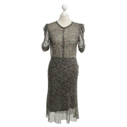 Isabel Marant for H&M Silk dress with pattern