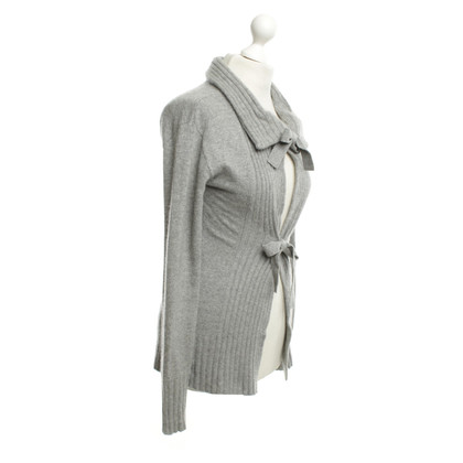 Bloom Cashmere Sweater in Gray