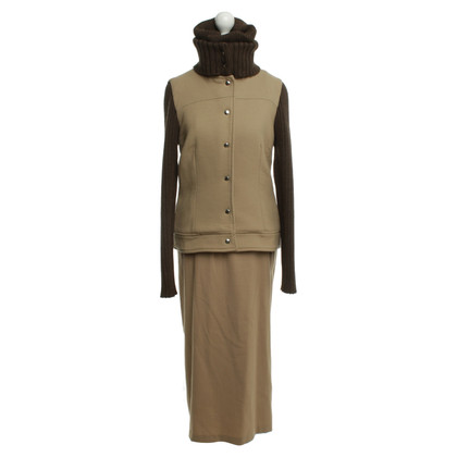 D&G Jacket & dress in brown tones