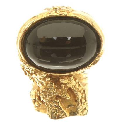 Yves Saint Laurent Goldfarbener Ring