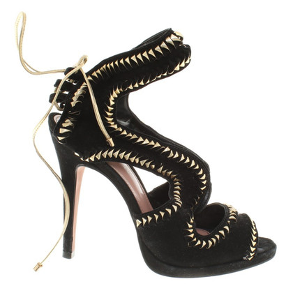 Kurt Geiger Sandals in black / gold