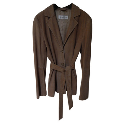 Max Mara Wild leather jacket